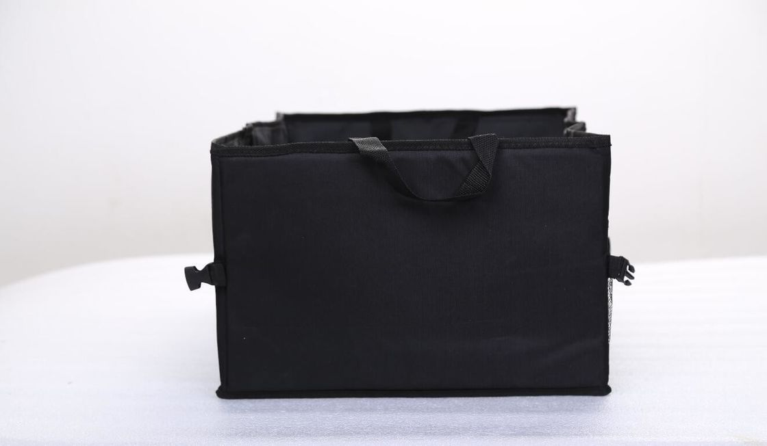 Waterproof Black Color Foldable Car Trunk Organizer With Large Size Capacity